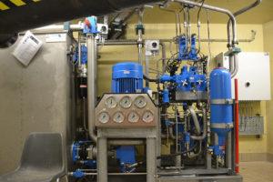 Hydraulic system Volkerak locks