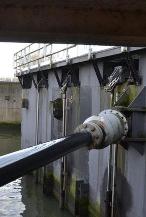Door cylinder for the Volkerak locks