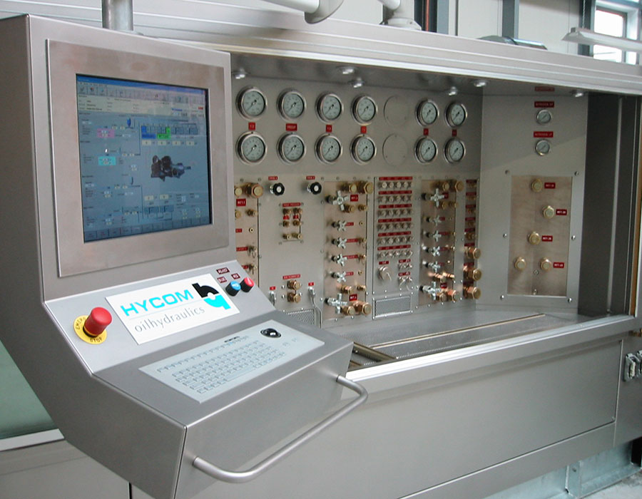 Non-rotating component test bench for aircraft maintenance