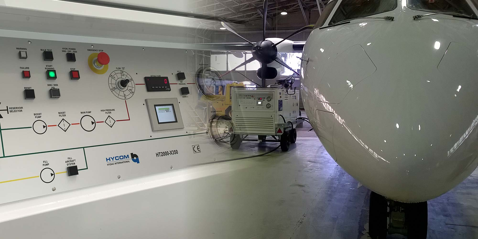 Control panel and HGPU