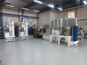 Complete hydraulic system for dredging system