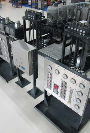 Complete hydraulic system Multipurpose test rig