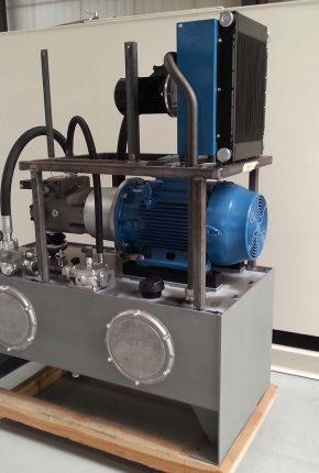 Custom made hydraulic power unit