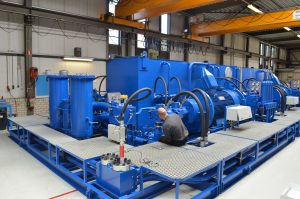 HPU for a 40MW Cutter Suction Dredger