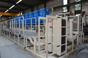 Hydraulic Power Unit with cooling and dewatering system