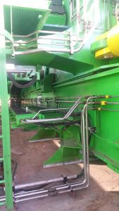 Hydraulic piping for upending-tool used in Offshore Wind