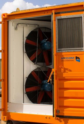 Hydraulic power unit for monopile gripper