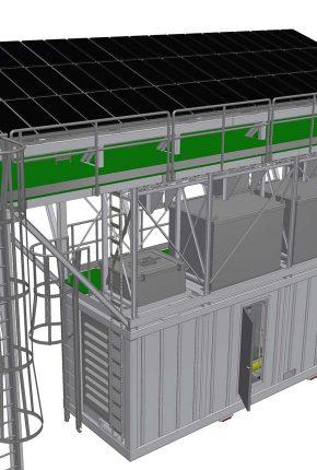 Hydraulic system ATEX zone2