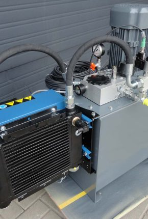 Hydraulics Hybox system