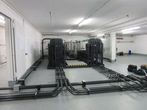 Multipurpose test rig onsite