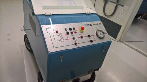 Hydraulic filling unit for aircrafts