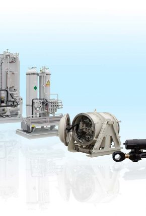 Complete turn-key hydraulic system for active visors