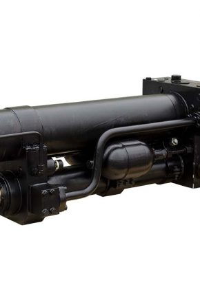 Hydraulic cylinders for active visor system
