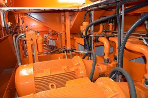 Hydraulic power unit Monopile Gripper