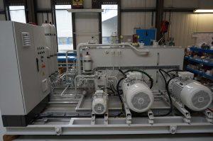 Assembly of Hydraulic Power Unit for TSHD