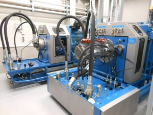 Hydraulic remanufacturing test bench
