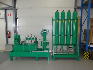 Hydraulic Power Unit and Accumulator station